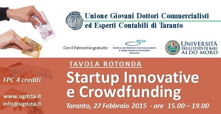 Invito Convegno Startup Taranto  _Logo